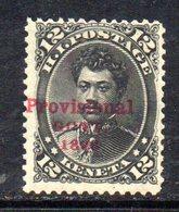 APR578 - HAWAII 1893 , Yvert N. 51  *  Linguelle Pesanti - Hawaii