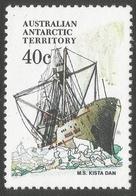 Australian Antarctic Territory. 1979 Ships. 40c MH. SG 48 - Territoire Antarctique Australien (AAT)