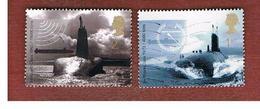 GRAN BRETAGNA.GREAT BRITAIN -  SG 2202  -  2001 ROYAL NAVY SUBMARINE    - USED - 1952-.... (Elisabetta II)