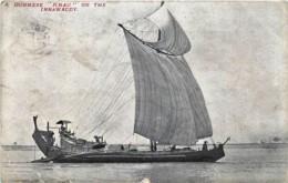 "Myanmar - Birmanie - A Burmese "" KNAU "" On The Irrawaddy - Myanmar (Burma)"