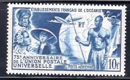 OCEANIE - P.A N° 29 **  (1949) U.P.U - 1949 75e Anniversaire De L'UPU