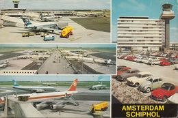 "Netherland - Amsterdam -  Airport - ""Schiphol"" - Airplane - Cars - VW - VW Bus - Opel - Triumpf - Amsterdam"