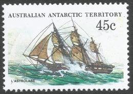 Australian Antarctic Territory. 1979 Ships. 45c MH. SG 49 - Neufs