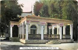 Myanmar - Birmanie - Mandalay - The Palace , King Theebaw's Sitting Room - Myanmar (Burma)