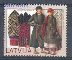 Latvia 2005 Mi 648 MNH ( ZE3 LTV648 ) - Kostüme