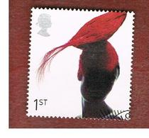 GRAN BRETAGNA.GREAT BRITAIN -  SG 2216  -  2001 FASHION HATS: TOQUE HAT - USED - 1952-.... (Elisabetta II)