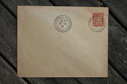 Enveloppe Avec Timbre Taxe Oblitération Versailles Château Congrès De La Paix 1919 - Taxes