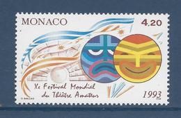 Monaco - YT N° 1869 - Neuf Sans Charnière - 1993 - Monaco