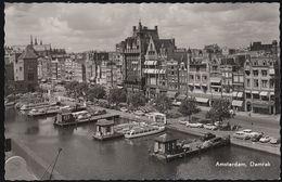 Netherland - Amsterdam - Damrak - Ships - Cars - VW Käfer - Opel - DKW- Uvm. - Amsterdam