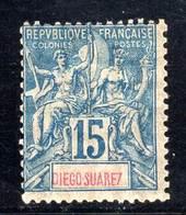 DIEGO-SUAREZ -  N°43 *  (1893) - Diego Suarez (1890-1898)