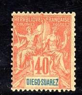DIEGO-SUAREZ -  N°47 *  (1893) 40c - Diego Suarez (1890-1898)
