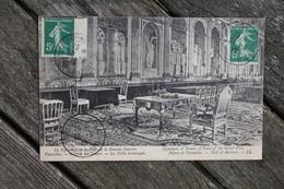Carte Postale Affranchie Timbre Type Semeuse Oblitération Versailles Château Congrès De La Paix 1919 - Postage Due