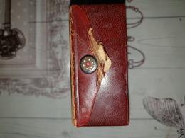 Rare Boite De Parfum Coty En Cuir - Vintage Miniatures (until 1960)