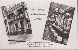 """Netherland - Amsterdam - Bar - Bodega """"d ' Amstelstroom"""" - 1881 - Amsterdam"""