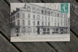 Carte Postale Affranchie Timbre Type Semeuse Oblitération Versailles Château Congrès De La Paix 1919 - Impuestos