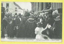 * Antwerpen - Anvers - Antwerp * (Climan Ruyssers) Visite Lord Maire De Londres 19-23 Juillet 1910, Koets, Animée, TOP - Antwerpen