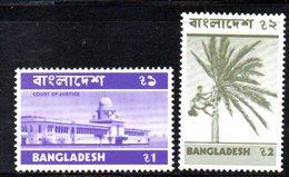 APR594 - BANGLADESH 1974 , Serie Yvert N. 50/51  *** - Bangladesh