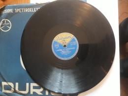 Durium   -   1953.  Serie M  Nr. 10520. Fisarmonica Solista Edoardo Lucchina - 78 Rpm - Schellackplatten