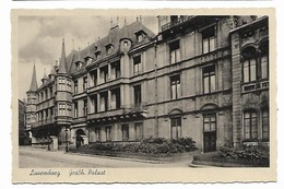 Luxemburg - Großh. Palast - Luxembourg - Ville