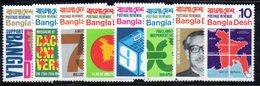 APR595 - BANGLADESH 1971 , Ordinaria Serie Yvert N. 1/8  *** - Bangladesh