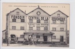 AUBERVILLIERS * Le Fondoirs Central De La Boucherie - CPA En Très Bon état - Aubervilliers