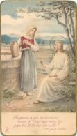 CANIVET IMAGE RELIGIEUSE  SOUVENIR DE PREMIERE COMMUNION  CROUTTES 1932 - Devotion Images