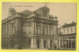 * Brugge - Bruges (West Vlaanderen) * (Edition Grand Bazar Parisien, Nr 180) Le Théatre, Theater, Schouwburg, Animée - Brugge