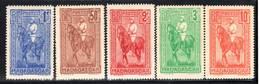 MADAGASCAR - N°183/7 **/* (1931) Général Joseph-Simon Galliéni - Nuevos
