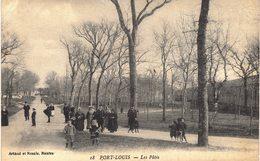 Carte Postale Ancienne De PORT LOUIS - Port Louis