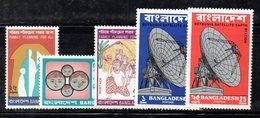 APR599 - BANGLADESH 1975 , L'annata Completa N. 59/63  *** - Bangladesh