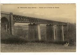 Carte Postale Ancienne Thouars - Viaduc Sur La Vallée Du Thouet - Thouars
