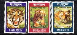 APR600 - BANGLADESH 1974 , Yvert Serie N. 56/58  ***  Tigri - Bangladesh