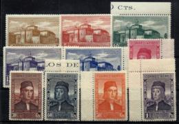 España Nº 547/56 En Nuevo - 1889-1931 Reino: Alfonso XIII