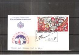FDC Monaco - JO Nagano 1998 - Hiver 1998: Nagano