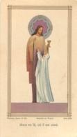 CANIVET IMAGE RELIGIEUSE  JESUS VA LA OU IL EST AIME  EGLISE ST ETIENNE D'UZES  1945 - Andachtsbilder