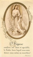 CANIVET IMAGE RELIGIEUSE O SEIGNEUR  EGLISE MAISONS ALFORT 1954 - Images Religieuses