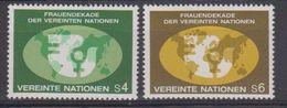 UNO Wien 1980 Frauendekade 2v ** Mnh (42479) - Ongebruikt