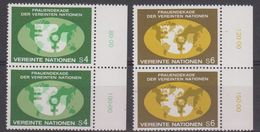 UNO Wien 1980 Frauendekade 2v (pair) ** Mnh (42479A) - Ongebruikt
