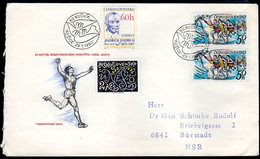 CZECHOSLOVAKIA 1980 Peace Marathon FDC.  Michel 2551 - FDC