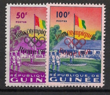 Guinée - 1960 - N°Yv. 39 à 40 - Olympics / Rome 60 - Neuf Luxe ** / MNH / Postfrisch - Guinea (1958-...)