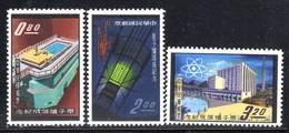 TAIWAN - N°388/A/B **  (1961) Réacteur Atomique - 1945-... Republiek China