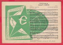 240399 / 6th World Festival Of Youth And Students MOSCOW 1957 , ESPERANTO , MUSIC , Kraków , Poland Pologne - Esperanto