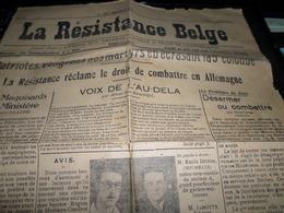 Huy- Waremme La Resistance Belge  Du 30/09/1944 Journal Du FI - Journaux - Quotidiens