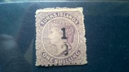 Turks  Island 1881 - Turks & Caicos