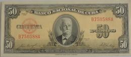 Billet De Cuba 50 Pesos 1958 Neuf/UNC - Cuba