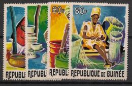Guinée - 1965 - N°Yv. 238 à 241 - Artisanat - Neuf Luxe ** / MNH / Postfrisch - Guinee (1958-...)