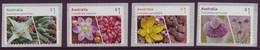 AUSTRALIA • 2017 • Succulents - Peel And Stick • MNH (4) - 2010-... Elizabeth II