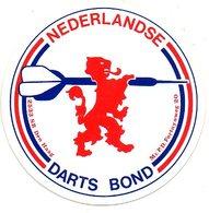Nederlandse Darts Bond  Sticker Autocollant Sport - Vignettes Autocollantes