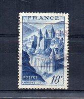 Francia - 1948 - Abbazia Di Conques - Usato - (FDC15154) - Francia