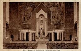 CPA Cholet Intérieur De L'Eglise Du Sacré-Coeur - Eglises Et Couvents